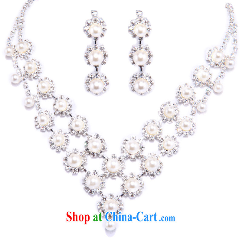 The Bridal Accessories Bridal Jewelry Bridal Necklace Set Wedding