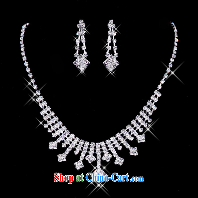 The bridal accessories bridal necklaces bridal jewelry wedding jewelry wedding 063 silver, a bride, shopping on the Internet