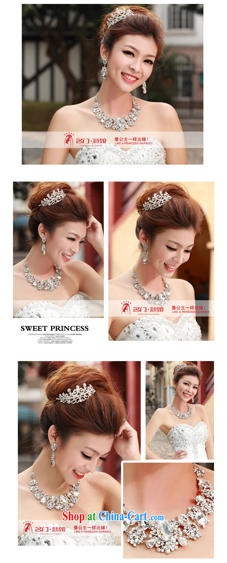 The bridal suite link water diamond necklace wedding jewelry new wedding accessories bridal necklace 153 silver pictures, price, brand platters! Elections are good character, the national distribution, so why buy now enjoy more preferential! Health