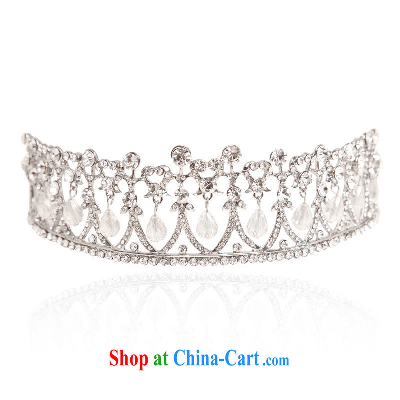 The bride bridal headdress bridal accessories wedding and bridal Crown 308 silver