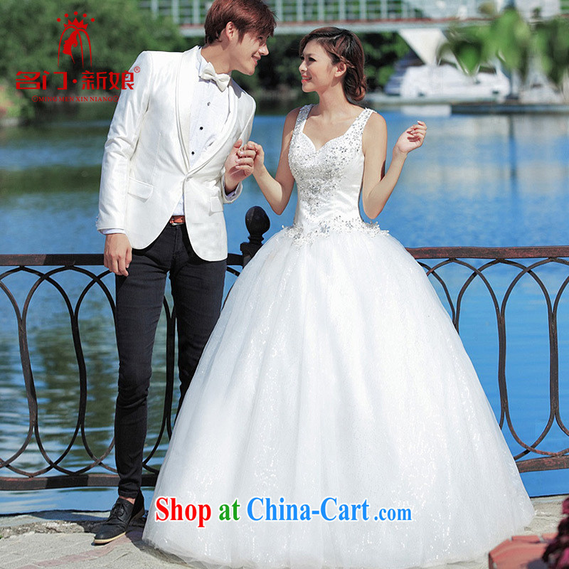 The new bride, wedding dresses erase chest Princess wedding Korean version with wedding 945 M