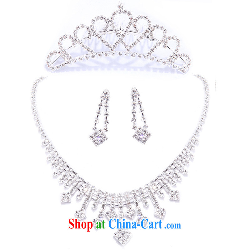 The bridal jewelry wedding jewelry bridal suite link Korean set link wedding accessories 3 piece suites Crowne Plaza 032 + 063 Kit link