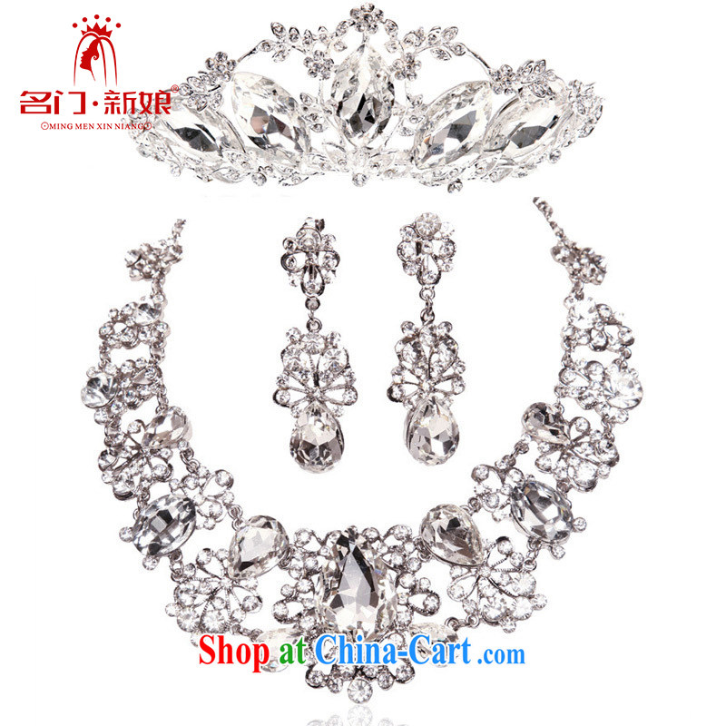 The bride bridal wedding jewelry The Drill Set chain jewelry 3-Piece luxury wedding accessories Crowne Plaza 087 153 Kit link