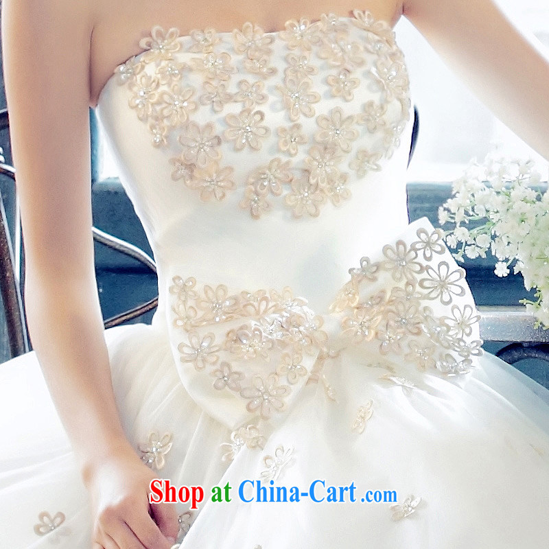The bride's new Korean Palace minimalist luxury shaggy erase chest Princess wedding 810 the lint-free cloth, L, the bride, shopping on the Internet