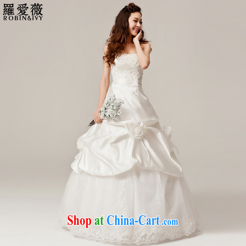 Love, Ms Audrey EU Yuet-mee, RobinIvy_ New 2015 wiped his chest, wedding dresses white H 12,031 white L code