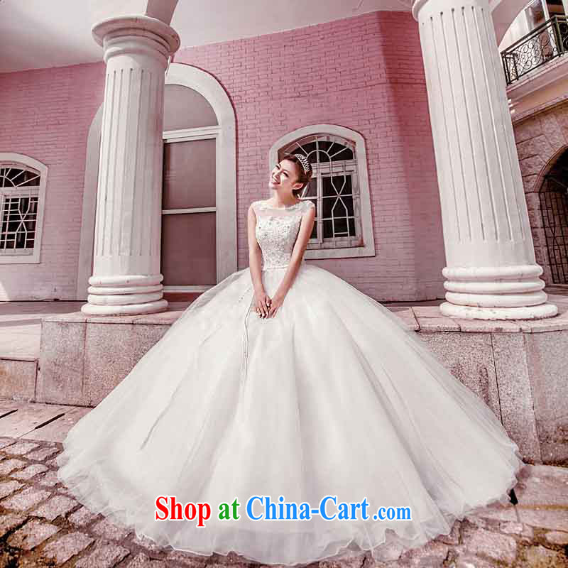 The bride's wedding dresses shaggy Princess wedding elegant lace wedding with wedding 954 L, the bride, shopping on the Internet