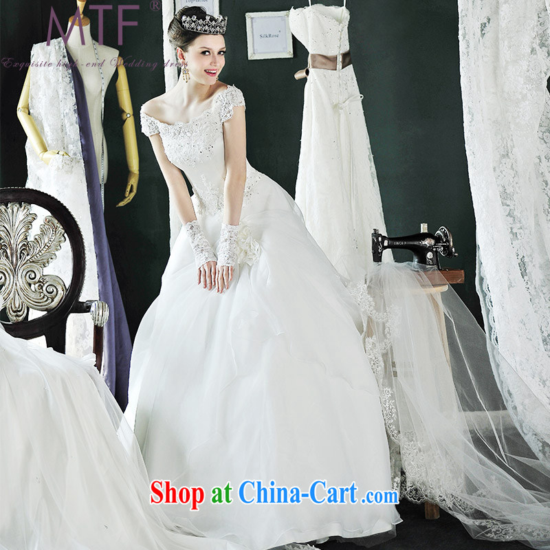 Garden_MTF made exclusive fashion Korean Princess a Field shoulder wedding dresses new H 996 with paragraph 173 - M