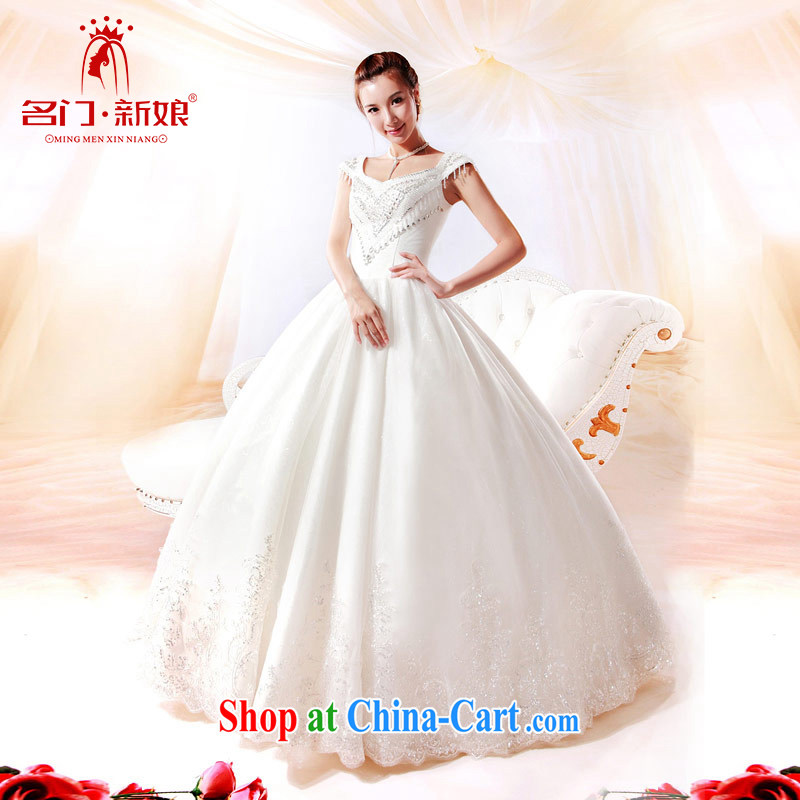 The bride's wedding Luxury Water drilling wedding Korean Princess with wedding new 912 L