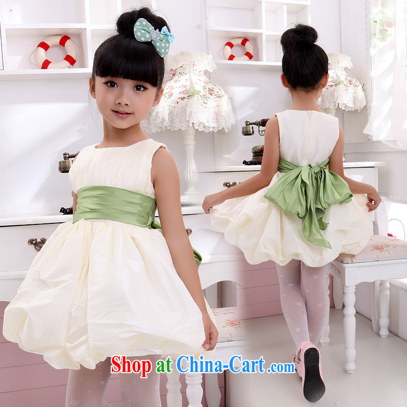 Moon 珪 guijin Paridelles, cute children's clothes dress children show their dance uniforms T 12 champagne color 10 is scheduled 3 Days from Suzhou shipping