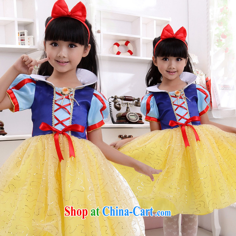 Moon ? guijin Princess Snow White children's rompers dress dress wedding dress Princess dress girl dress dress children show their dance clothes T 10 code scheduled 3 days from Suzhou shipping