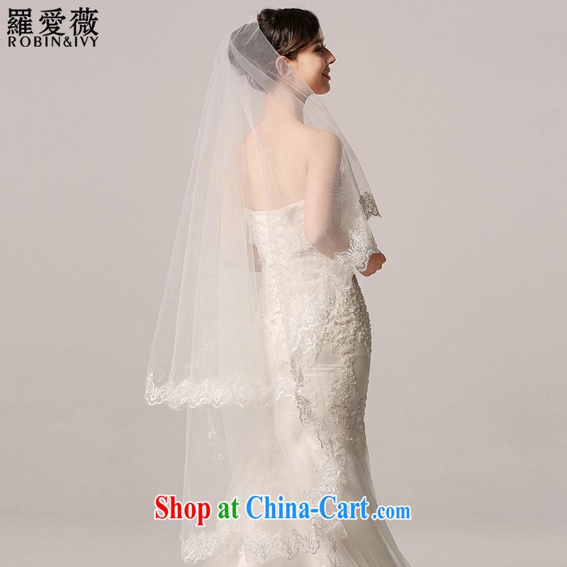 Love, Ms Audrey EU Yuet-mee, RobinIvy_ New 2015 head-long bridal 3M Korea-the-head dresses wedding accessories Y 13,001 white 175 CM above