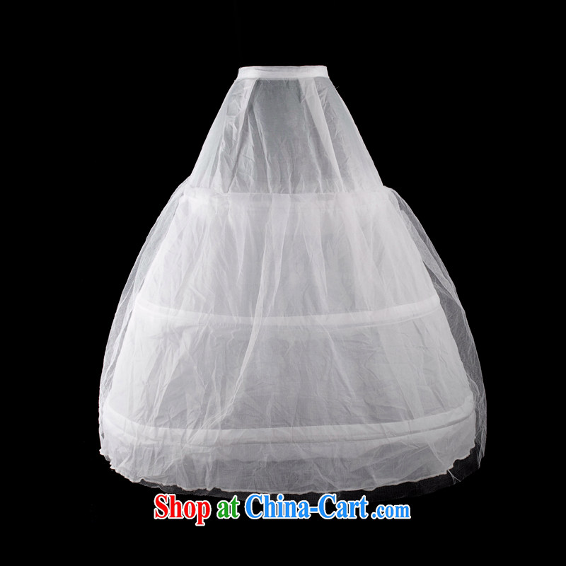 Mrs Alexa Lam go scot wedding dresses skirt stays bridal wedding accessories 3 steel a yarn petticoat skirts 00,232