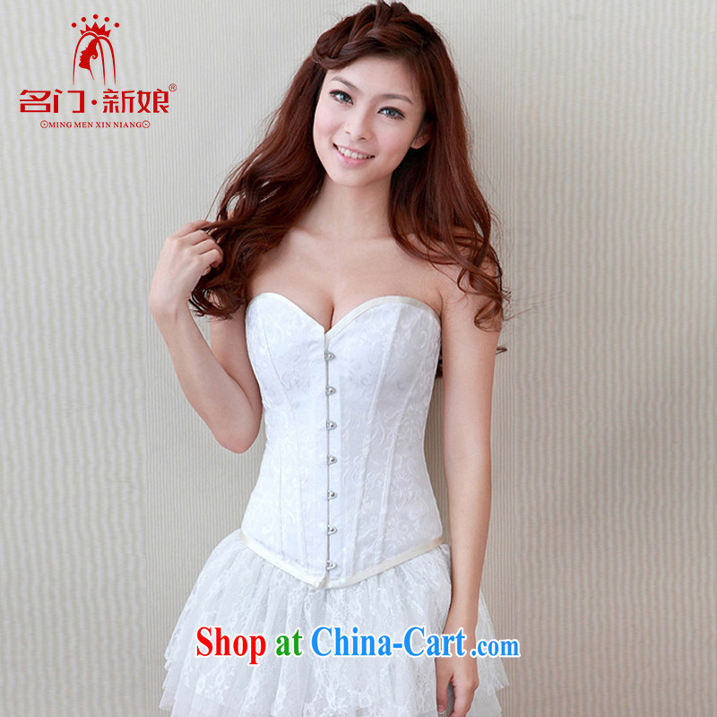 The bride's wedding underwear and chest harness, pinching underwear thin body shape and clothing shaped bra 001 L