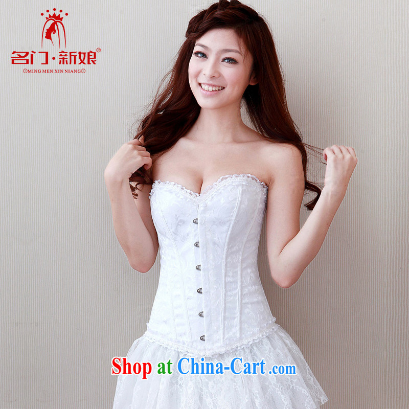 The bride's wedding underwear and chest harness, pinching underwear thin body shape and clothing lace, 003 M