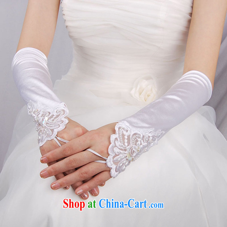 MSLover lace decals long, check the Satin bridal wedding gloves wedding dresses accessories LST 120,902 white pictures, price, brand platters! Elections are good character, the national distribution, so why buy now enjoy more preferential! Health