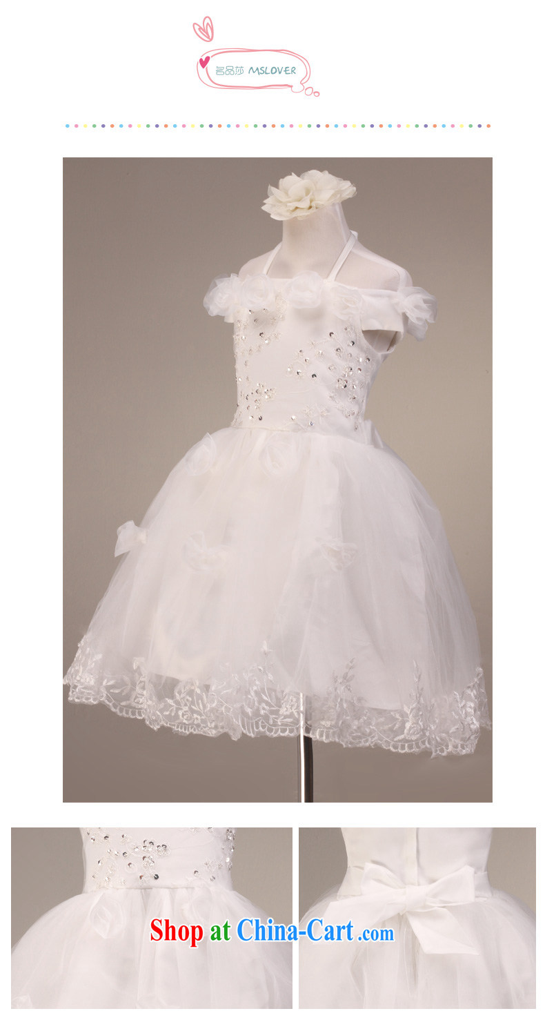 Hang MSLover also lace shaggy skirts girls Princess dress children dance stage dress flower dress FD 130,613 m White 4 pictures, price, brand platters! Elections are good character, the national distribution, so why buy now enjoy more preferential! Health