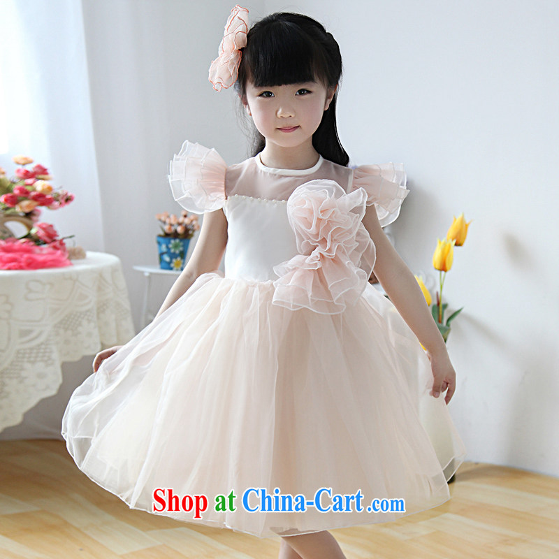 Moon ? guijin meat-colored Princess dresses short-sleeved short skirt with Princess skirt girls dress show service T 40 10 code scheduled 3 days from Suzhou shipping