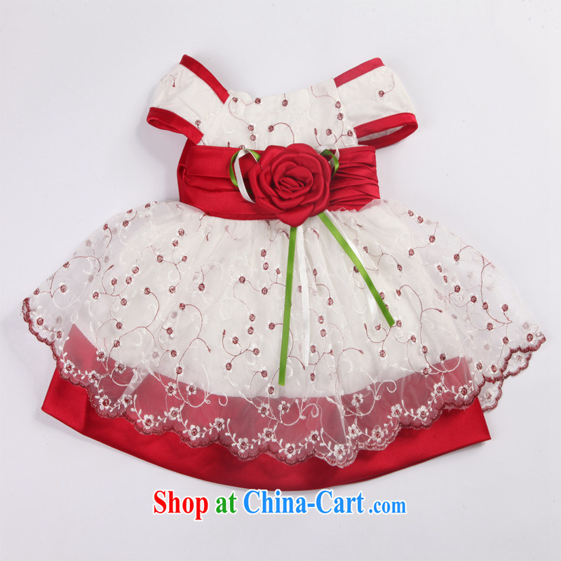 Moon 珪 guijin children wedding flower children's wear girls 100 on 100 Memorial Day Service 56 T
