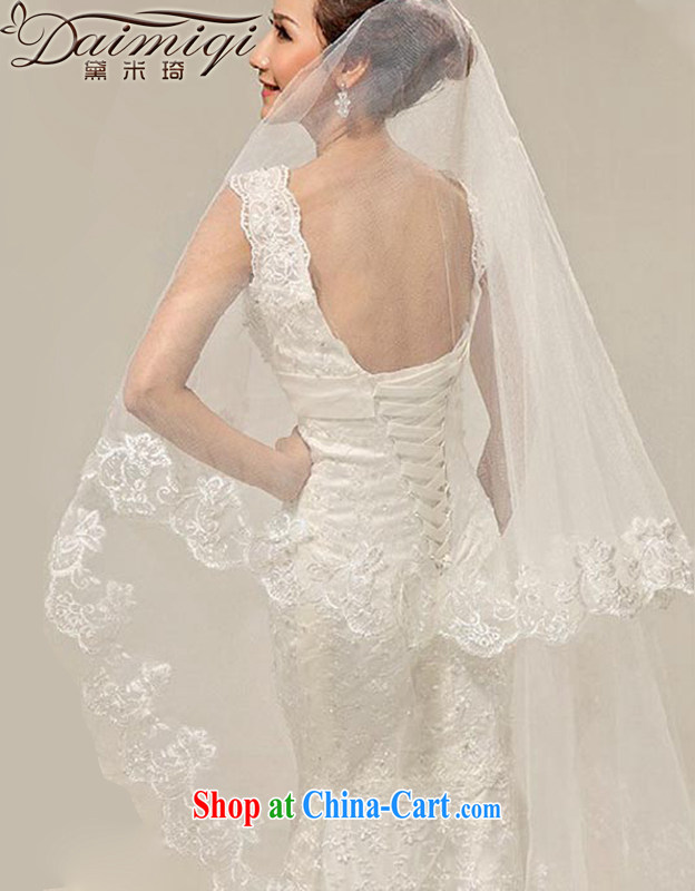 Diane M-kay Bridal Fashion and legal wedding new, quality atmosphere and yarn 2.5 meters bridal head yarn