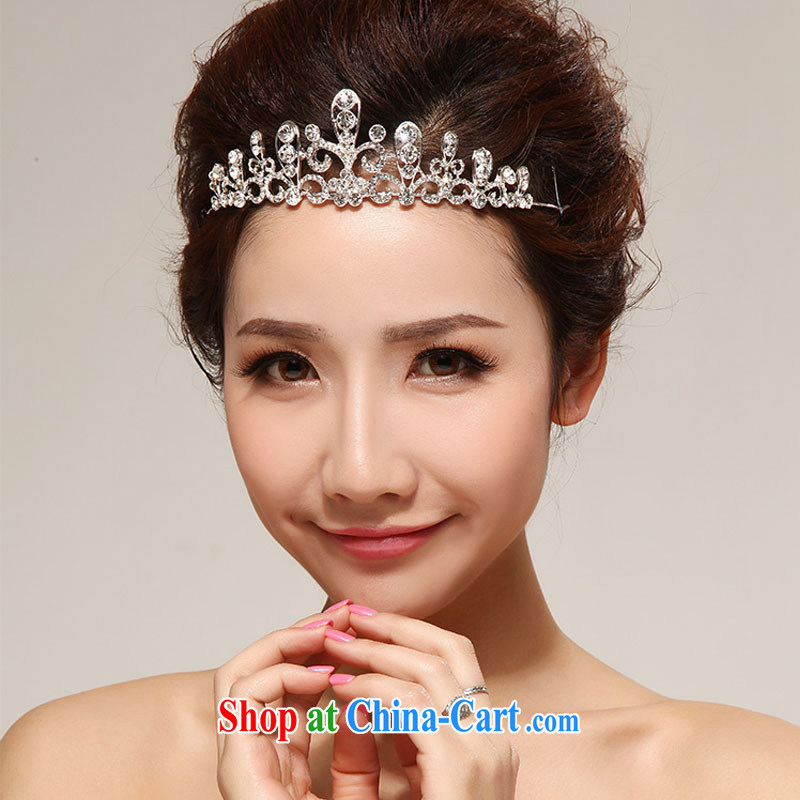 Diane M Ki bridal Crown water drilling bride's crown wedding wedding hair accessories shadow floor Jewelry Bridal Fashion Crown