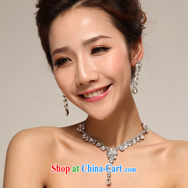 Diane M Qi 2014 marriage mandatory modern marriages take-necklace earrings set shadow floor Jewelry jewelry