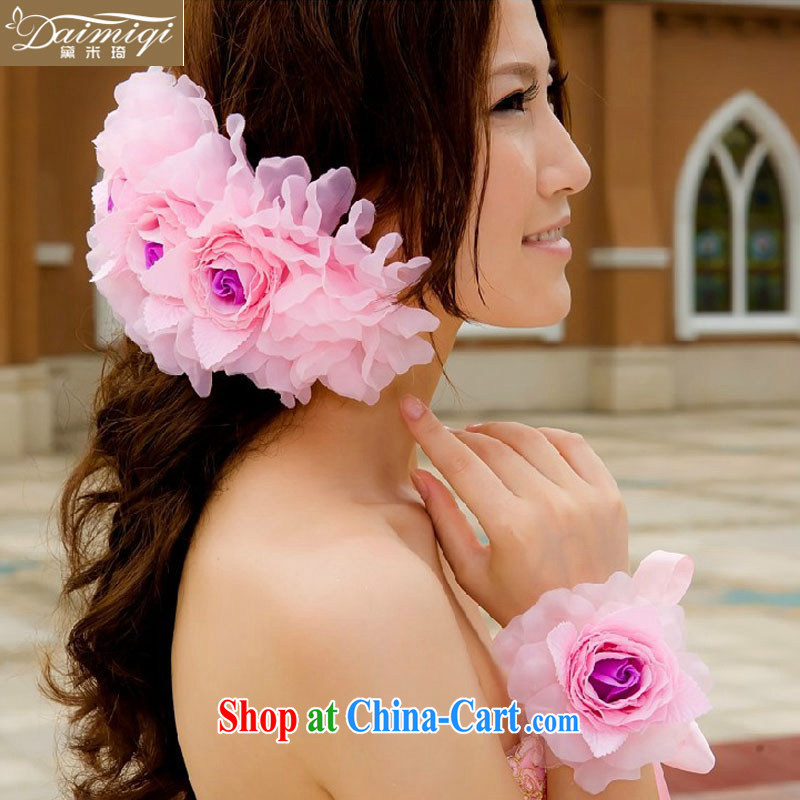 2014 new wedding dresses with Korean-style and spend + must also take - bridal hair accessories bridal and flower