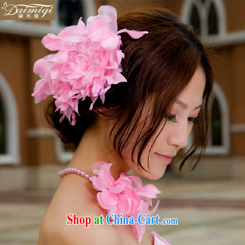 2014 new wedding dresses with pink Korean-style and spend + must also take - bridal hair accessories bridal and flower