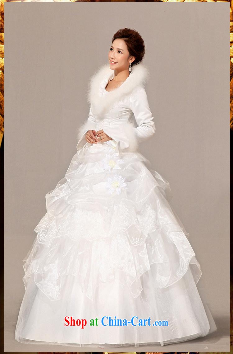 Diane M Ki wedding dresses new 2014 winter wedding dresses with hair ...