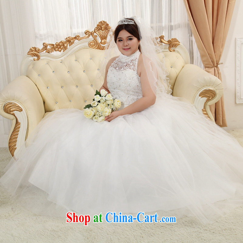 Moon 珪 guijin wedding dresses new thick mm and King tied with wedding maximum XXXXL code the code wedding 2 XXXXL scheduled 3 days from Suzhou shipping