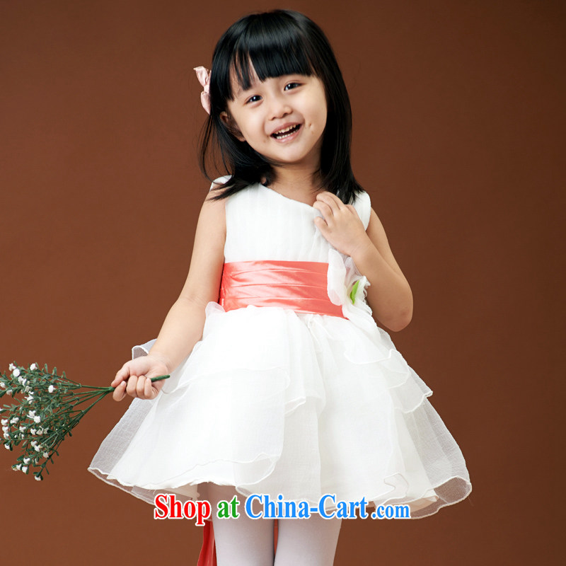 Moon 珪 guijin children Princess skirt girls dress wedding Korean flower wedding dress shaggy skirts dance service 2 6 yards from Suzhou shipping