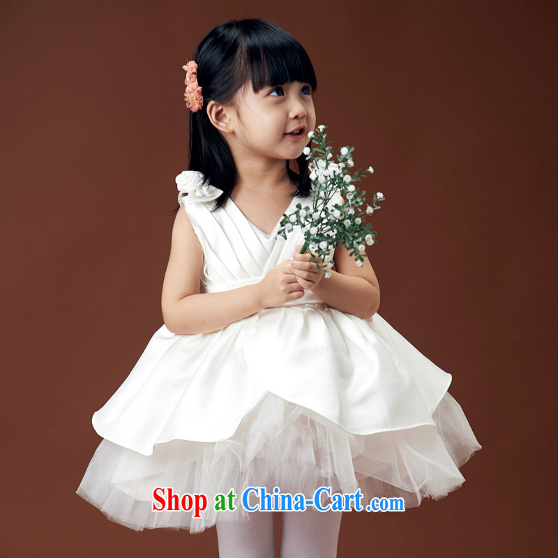 Moon «• guijin children wedding dresses flower girl Princess wedding dresses dress Princess dress dance dress uniforms early childhood shaggy dress 5 6 yards from Suzhou shipping
