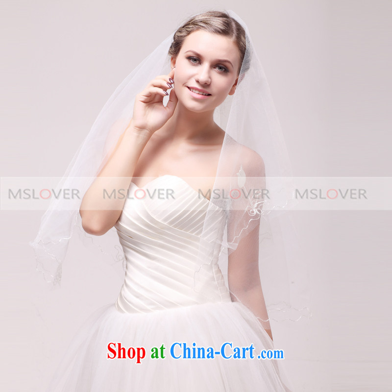 MSLover tulip 1.5 M single layer wedding dresses accessories bridal wedding head-dress, ornaments and yarn TS 120,341