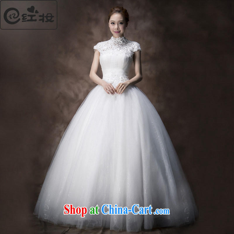 Recall that the red makeup summer 2015 stylish wedding dresses wiped his chest a shoulder Korean version is also Graphics thin lace with tail wedding dresses H 13,730 white with XL paragraph