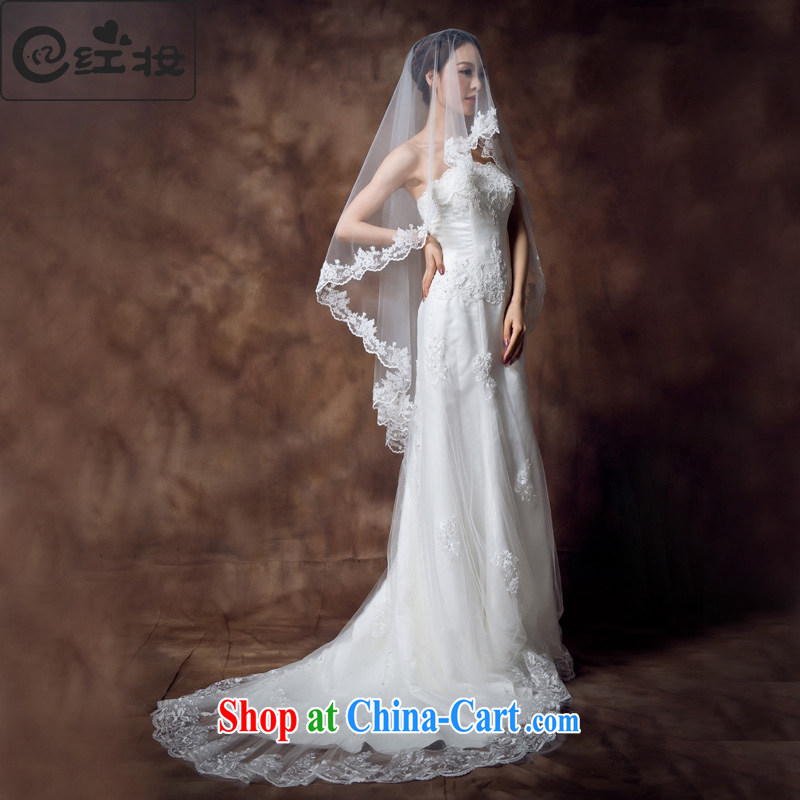 Recall that the red makeup summer new lace Korean Korean 2015 new crowsfoot large tail wiped his chest straps bridal wedding dresses H 12,136 white M