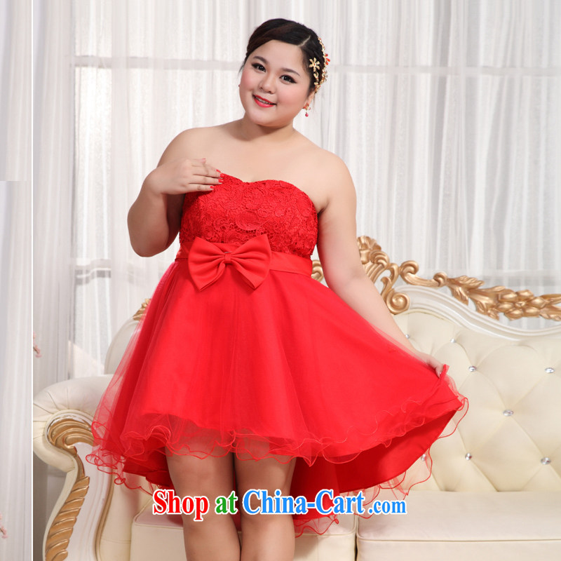 Moon 珪 guijin 2013 new Korean-style smears behind chest strap dress thick MM King, pregnant women video thin dress BHS 13 big red XXL scheduled 3 days from Suzhou shipping