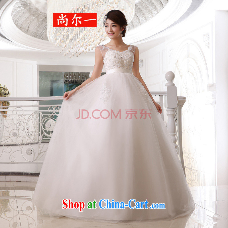 Taiwan's population 2014 bride high-waist wedding dresses wedding double shoulder strap wedding pregnant bride wedding XS 1923 package XXXL