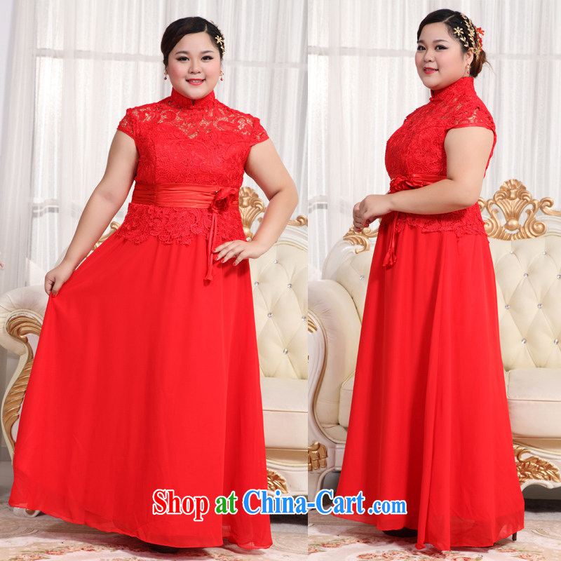 Moon 珪 guijin larger wedding dresses thick mm video thin dresses large yards, The toast is serving BHS 16 large red XXXXL scheduled 3 Days from Suzhou shipping