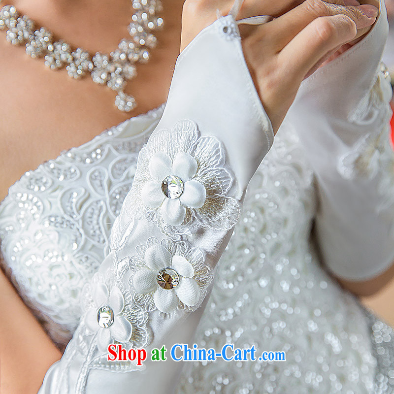 The bridal wedding gloves new 2013 bridal gloves dress gloves wedding gloves 018