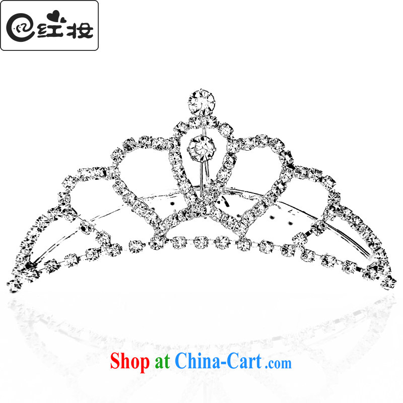 Recall that the ICRC Colombia Crown 2015 new bride upscale water drilling wedding head-dress wedding accessories only 10,057 P