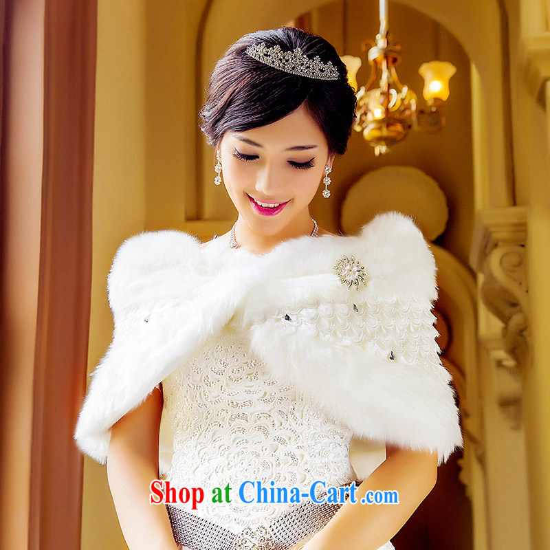 The bridal shawls wedding dresses shawls shawls winter/winter, bridal hair shawl 015 white
