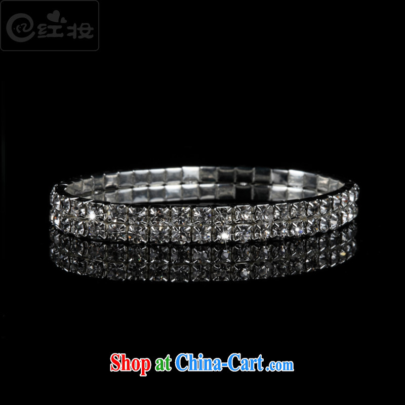 Recall that the red makeup Korean bridal bracelet water drilling on marriage also bracelet wedding dresses dresses with the ring P 13,009