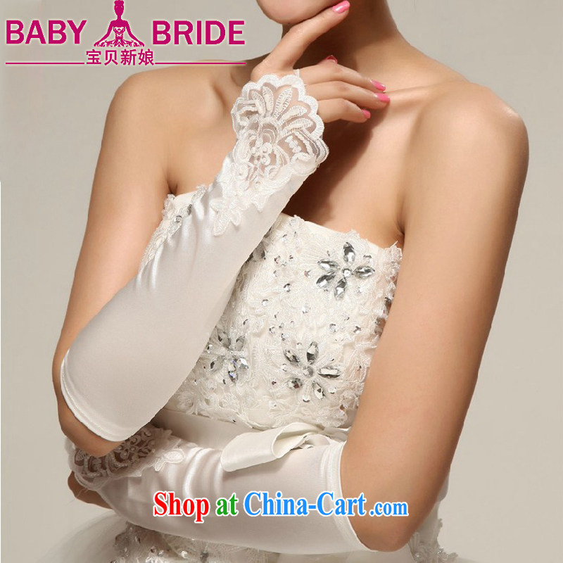 Baby bridal photo building photography, bridal wedding dresses Evening Dress Evening Dress/lace satin embroidered beads without a white gloves