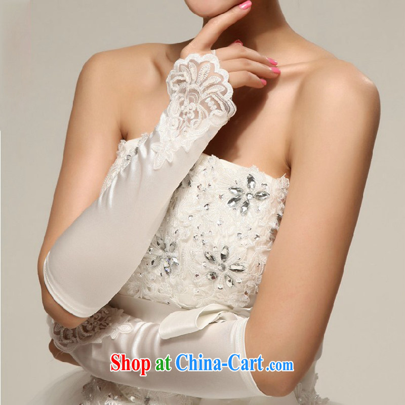 My dear bride photo building photography, bridal wedding dresses Evening Dress Evening Dress/lace satin embroidered beads without the white gloves, my dear Bride (BABY BPIDEB), shopping on the Internet