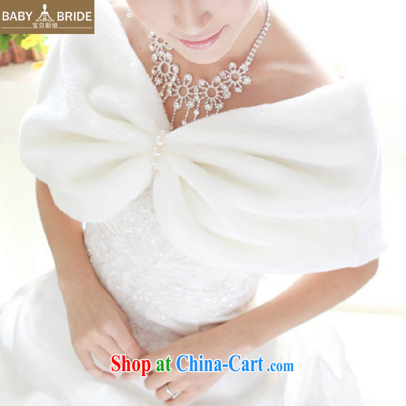 Baby bridal wedding hair shawl new bridal hair shawl white wedding dresses hair shawl autumn and winter shawl 20