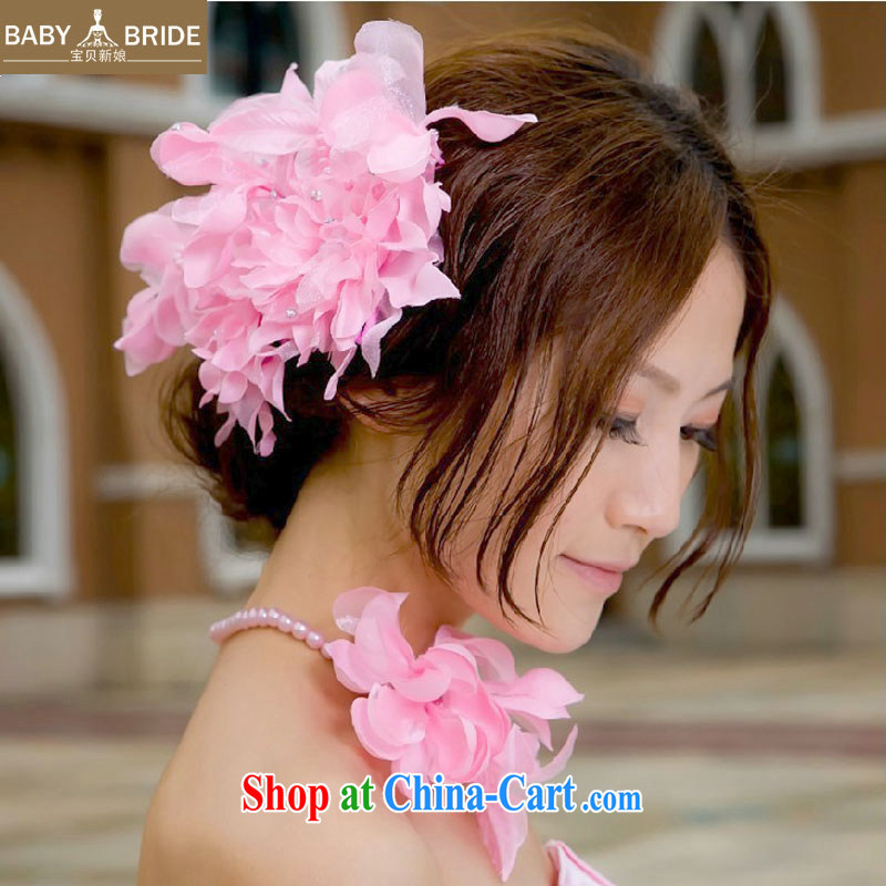 Baby bridal new wedding dresses with pink Korean-style and spend + also spend - the bride's jewelry bridal and spend 07