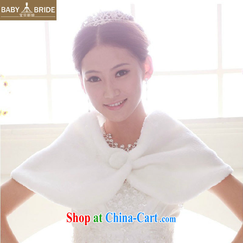 Baby bridal 2013 winter new hair shawl bridal hair shawl white wedding dresses hair scarves winter scarves 16
