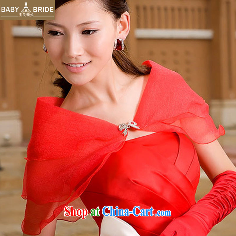Baby bridal wedding dresses dresses bridal Shawls/Scarves/yarn shawl/bridal Shawls/Korean 100a shawl 01 red