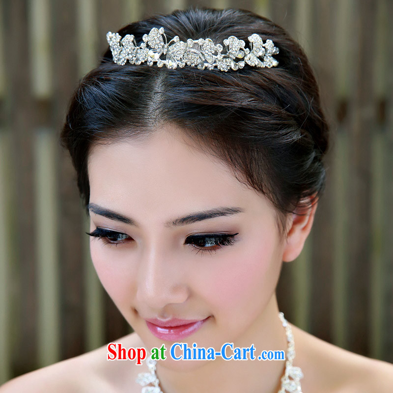 The bride bridal headdress bridal accessories bridal jewelry and ornaments marriage Crowne Plaza 109