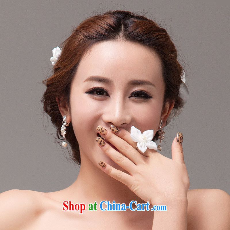 Manually MSlover Korean fresh 100 blossoms Jin spent married women wedding and spend rings HA 130,702 ivory Head (6 only)