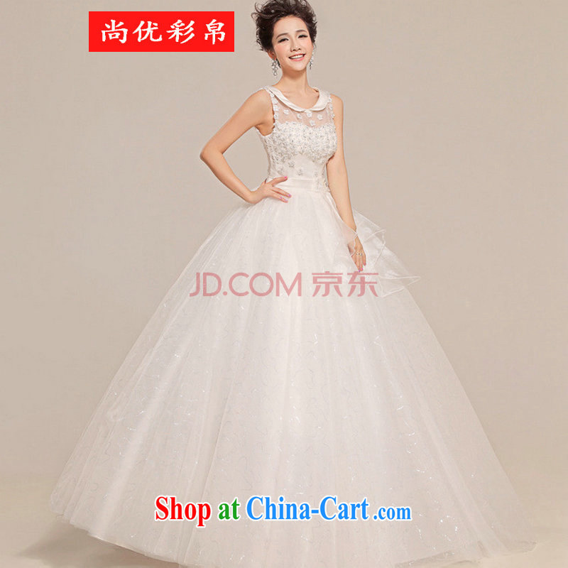 It is also optimized their wedding canopy skirts with a shoulder flowers erase chest wedding XS 5216 white XXL